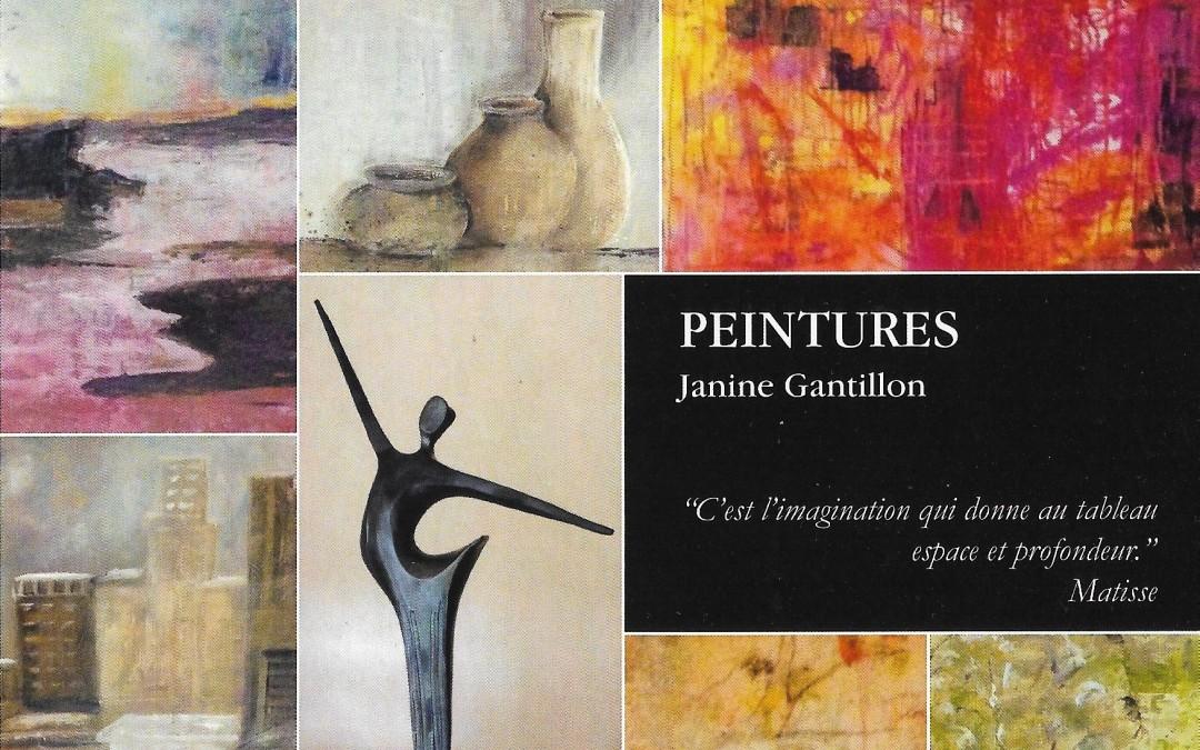 Peintures Janine Gantillon