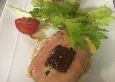 Foie Gras de Canard au Coing